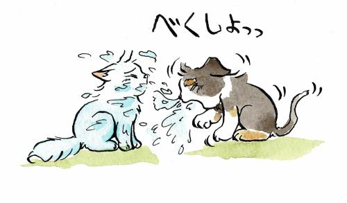 子犬の鼻水
