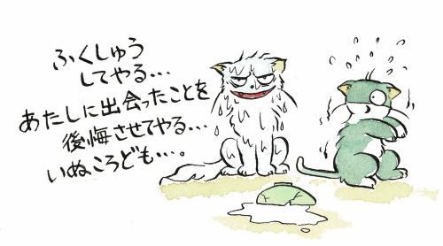 猫のうらみは怖いのです