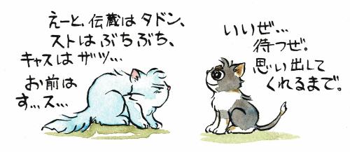 犬の名前が出てこない猫