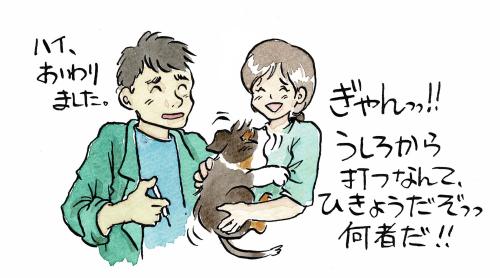 獣医さんと犬